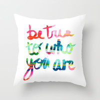 Creative Throw Pillow by Trend
