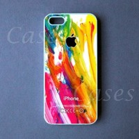 Iphone 5 Case - Colorful Paint Iphone 5 Cover