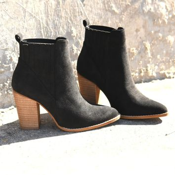 Central Park Booties - Black
