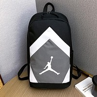 JORDAN Hot Sale Sport College Shoulder Bag Travel Bag School Backpack 1#