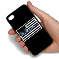 Thin Blue Line and Thin White Line Phone Case For Samsung & iPhone