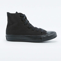 Converse All Star Chuck Taylor Black High-Top Trainers - Urban Outfitters