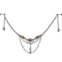 Handcrafted Get in the Mood Nipple Chain MADE WITH SWAROVSKI ELEMENTS | Body Candy Body Jewelry
