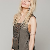 Free People Womens Lonesome Dove Top