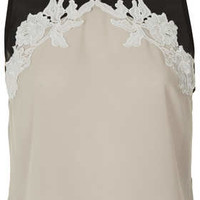 Lace Applique Shell Top - New In This Week - New In - Topshop USA