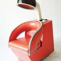 Vintage Retro Beauty Salon Chair