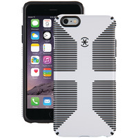 SPECK 73428-1909 iPhone(R) 6 Plus/6s Plus CandyShell(R) Grip Case (White/Black)