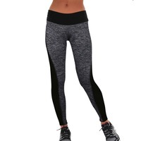 High Waist Stretched Spandex Leggings
