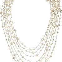 Rosantica|Pegaso gold-dipped freshwater pearl necklace|NET-A-PORTER.COM