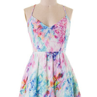 Water Color Dress