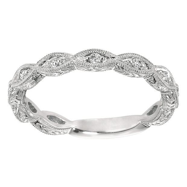Bridal & Wedding Party Jewelry Jewelry & Watches Objective 1/5 Ct Diamond Square Cluster Frame Vintage-style Bridal Set In 10k White Gold Lustrous