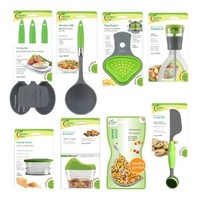 Jokari Healthy Steps Portion Control Diet / Weight Loss 10pc Utensil Kitchen Tool Set