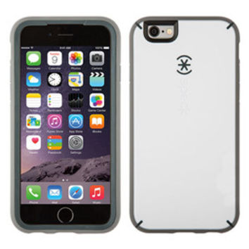 Speck MightyShell iPhone 6/6s Case, White/Charcoal Grey/Slate Grey