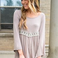 The Dream Scoop Top Beige