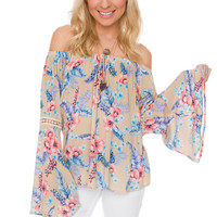 Regan Floral Top