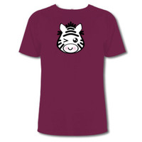 Zebra Custom T-shirts | Wordans Canada