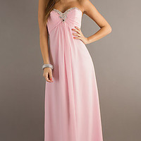 Strapless Evening Gown by Alyce Paris