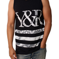 Young & Reckless Men's Trade Stripes Yuma Tank Top