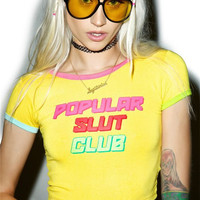 Popular Slut Club T-shirt