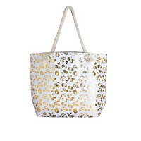 Over Sized Leopard Print Tote