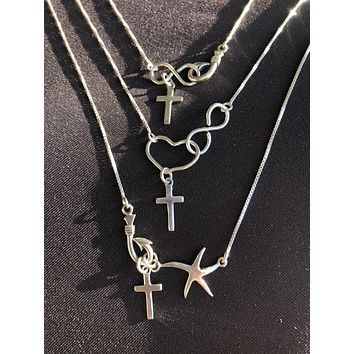 Minimal Christ Collection Necklaces