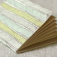 Jotter  Herringbone by witandwhistle on Etsy