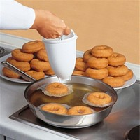 Plastic Doughnut Maker Machine Mold Tool Kitchen Ware Making Bake Ware