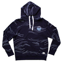 Altru Apparel Waves Rising Sun Hoodie (embroidered patch) (Loop Terry Matterial)