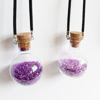 Love Potion or Wardrobe Ashes Necklace OUAT by CissyPixie on Etsy