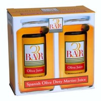 3BAR Picante Dirty Martini Olive Juice 2 Jars 32 oz each
