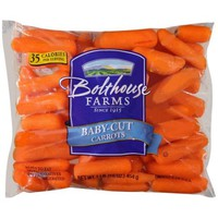 Peeled Baby-Cut Carrots, 1 lb bag - Walmart.com