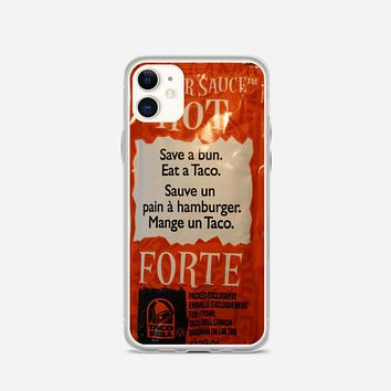 Taco Bell Packets iPhone 11 Case