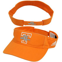 adidas Tennessee Lady Vols Basic Logo Adjustable Visor - Tennessee Orange