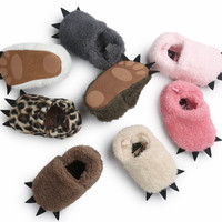 Dino Slippers- Baby Winter Slippers
