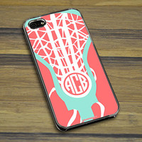 Lacrosse Phone Case Monogrammed Lax is Life   LuLaLax.com