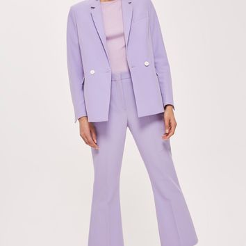 Cropped Suit Trousers   Topshop