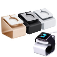 For iWatch Aluminum Charging Stand Station 38mm 42mm Holder for Apple Watch Charging