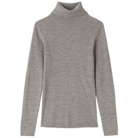 Women Less Itchiness Turtle Neck Sweaters