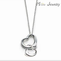 Valentine's Day 925 lace pendants Heart laces day Gift