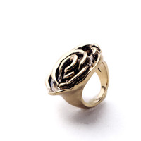 Vintage Rose Statement Ring