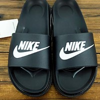 NIKE Benassi Slide JDI New fashion letter hook print shoes flip flop slippers 1#