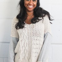 Chatham Cable Knit Sweater