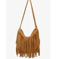 Celebrity Vintage Punk Tassel Fringe Shoulder Messenger Handbags Cross Body Bag