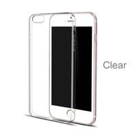 Hot Sale 0.5mm Ultrathin Slim Soft Crystal Clear Transparent TPU Silicone Cover Case For iPhone 6 5 5s 6s Plus SE Phone Cases