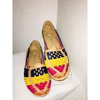 Mexican Leather Sandals Multicolor