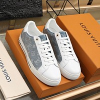 lv louis vuitton womans mens 2020 new fashion casual shoes sneaker sport running shoes 352