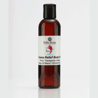 Cramp Relief Aromatherapy Body Oil by Bella Reina (4oz)