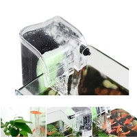 220-240V Fish Turtle Tank Aquarium External Oxygen Pump Waterfall Filter Mini Aquarium Power Filter US Plug