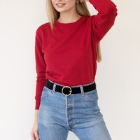 Bessy Sweater - Red