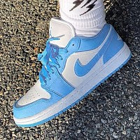 NIKE Air jordan 1 AJ1 men's and women's low-top sneakers Shoes